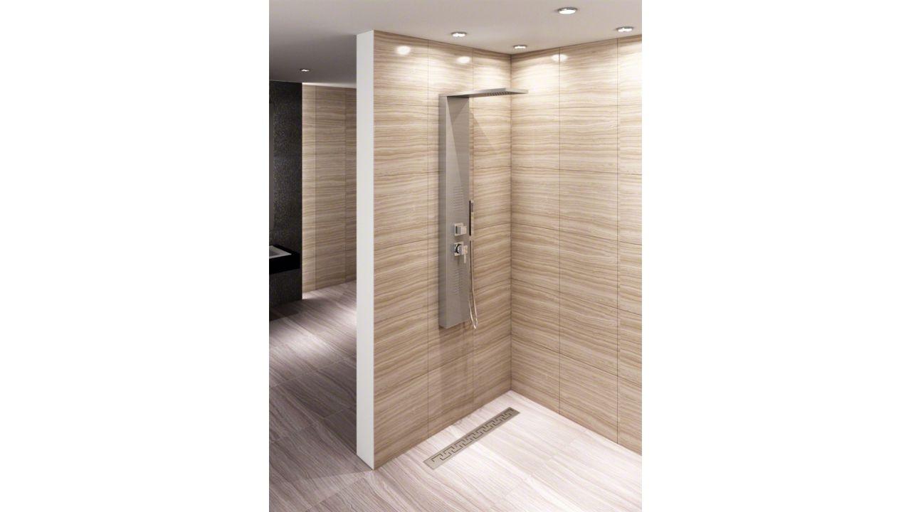 Natryski w nowoczesnych łazienkach